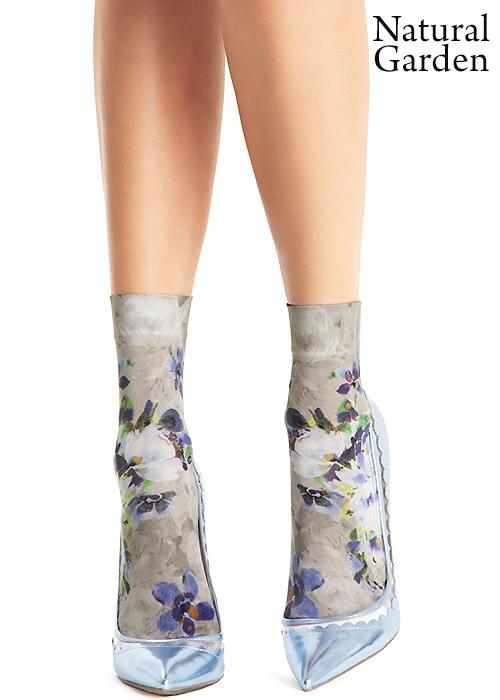 Oroblu Cristelle Floral Socks