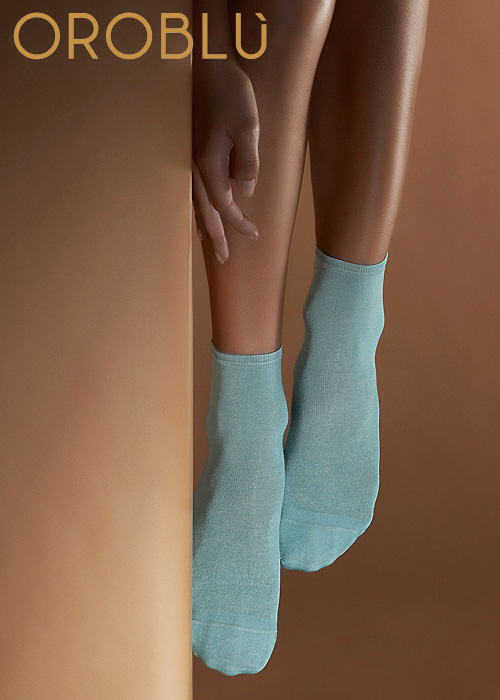 Oroblu Fine Cotton Silk Atena Socks