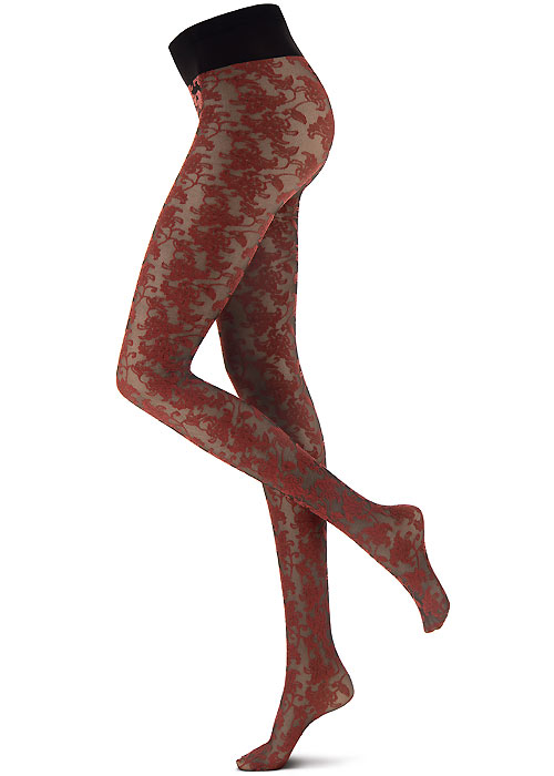 Oroblu Flower Bicolor Lace Tights