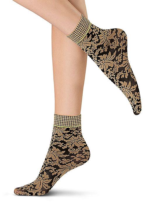 Oroblu Flower Blossom Socks