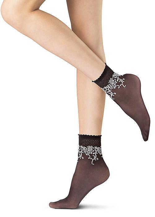 Oroblu Flower Cornely Socks