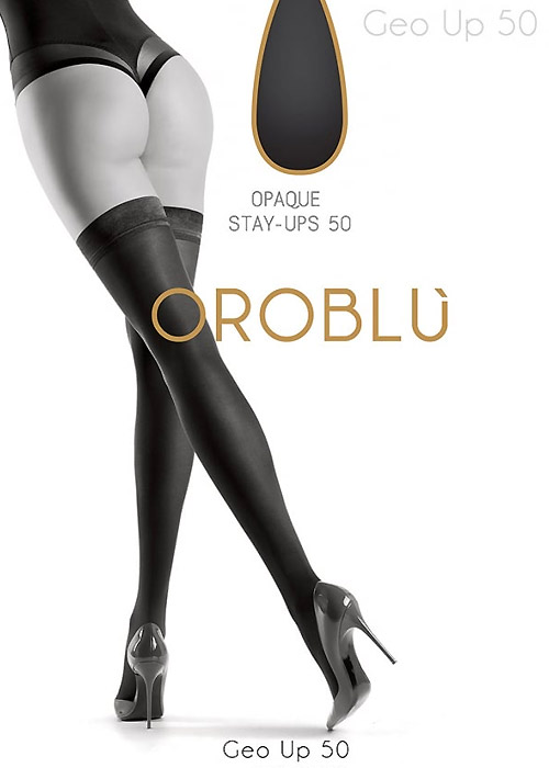 Oroblu Geo Up 50 Hold Ups