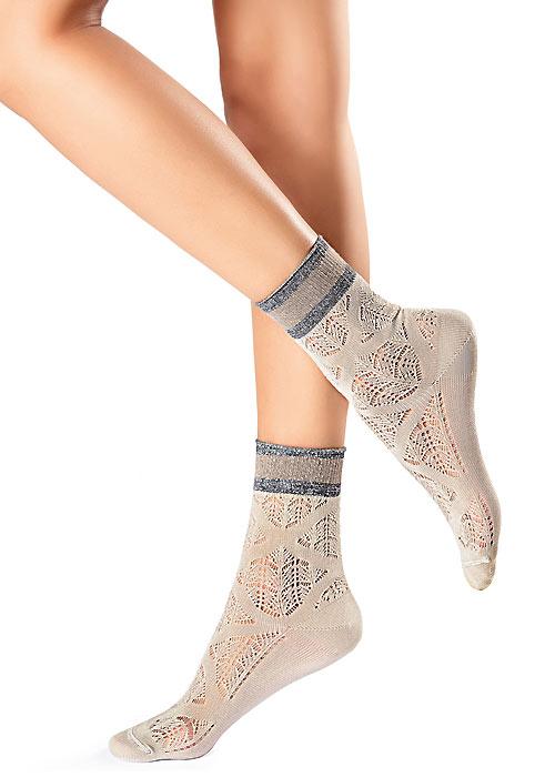 Oroblu Graphic Croquet Socks
