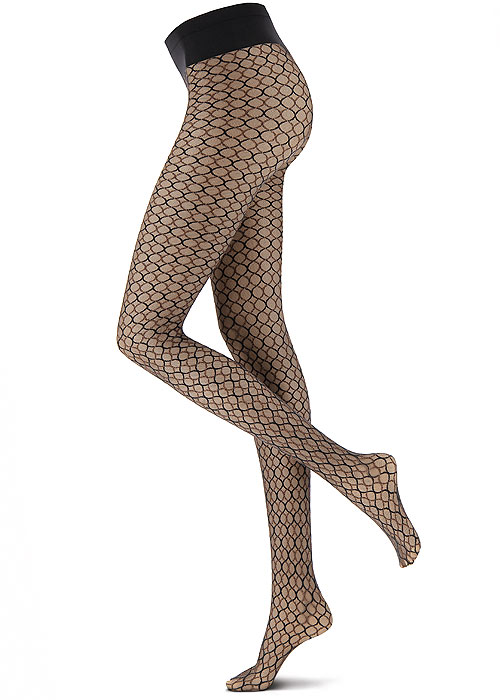 Oroblu Graphic Weaving Net Tights