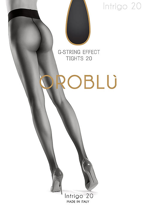Oroblu Intrigo G String 20 Denier Tights