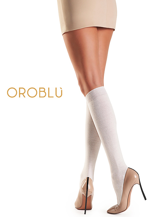 Oroblu Brittany Natural Fibres Knee Highs