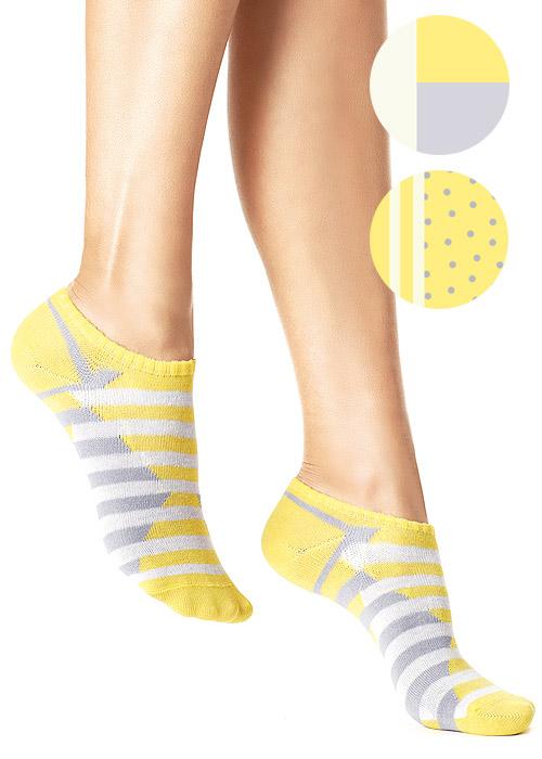 Oroblu Patch Socks 3 Pair Pack