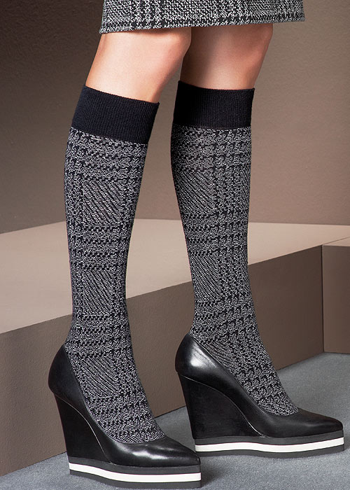 Oroblu Princely Fine Cotton Knee Highs