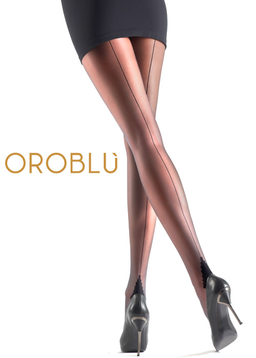 Oroblu Riga 20 Seamed Tights