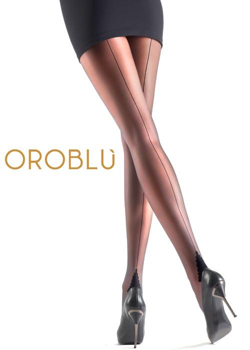 1960s Tights, Panty Hose, Stockings, Knee High Socks Oroblu Riga 20 Seamed Tights £11.99 AT vintagedancer.com
