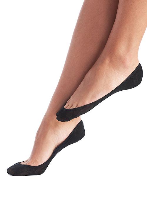 Oroblu Solange Ballerinas Footlets 2 Pair Pack