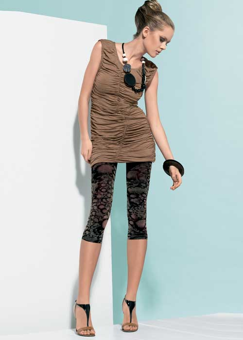 Oroblu Viviette Fashion Capri Leggings In Stock At UK Tights