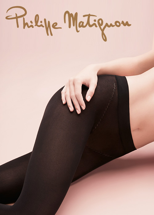 Philippe Matignon Nudite Veloutee 50 Denier Seamless Tights
