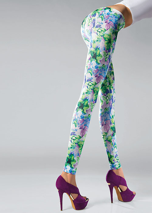 Pierre Mantoux Fiori Leggings
