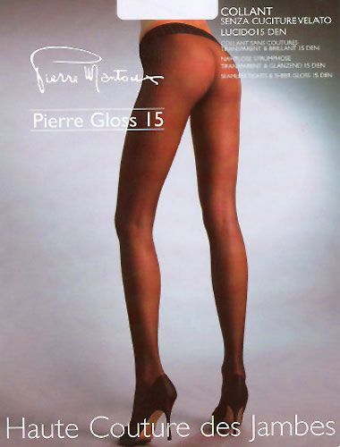 Tights Pierre Mantoux Pierre Gloss 15 Seamless Tights