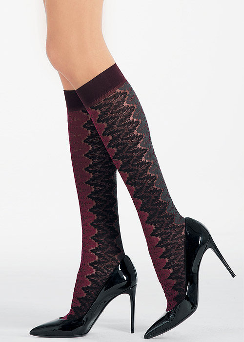 Pierre Mantoux Emma Fashion Knee Highs