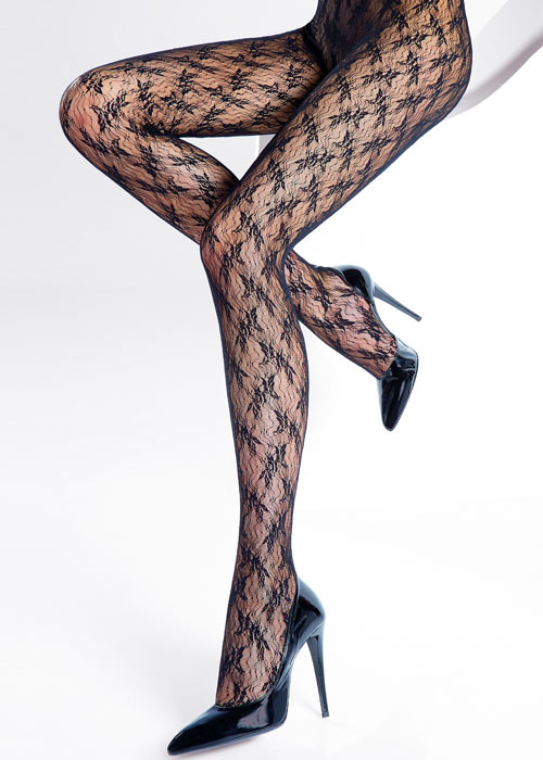 Pierre Mantoux Miranda Lace Tights