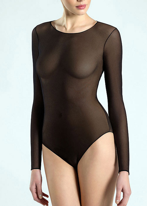 Pierre Mantoux Tulle Body Girocollo