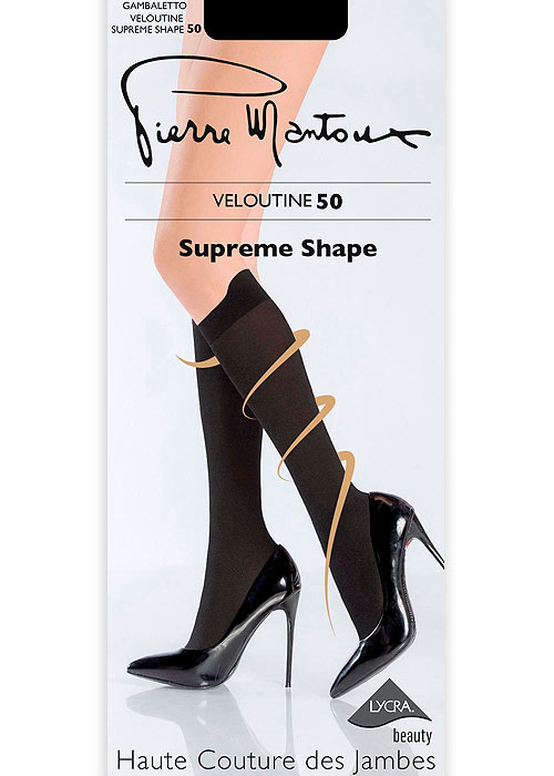 Pierre Mantoux Veloutine Supreme Shape 50 Knee Highs