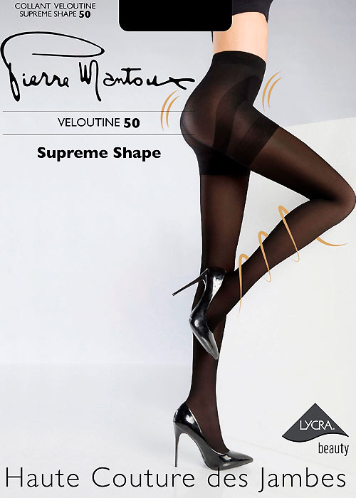 Pierre Mantoux Veloutine Supreme Shape 50 Tights