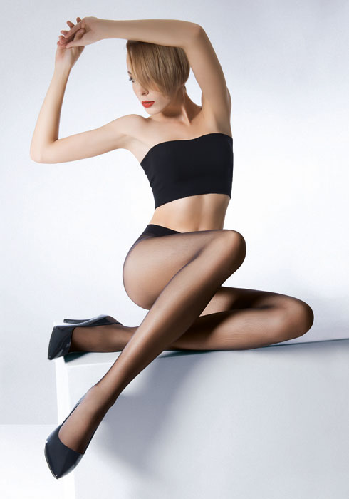 Pierre Mantoux Veloutine 15 Sheer Tights