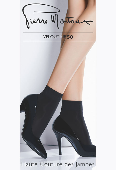Pierre Mantoux Veloutine 50 Opaque Anklet