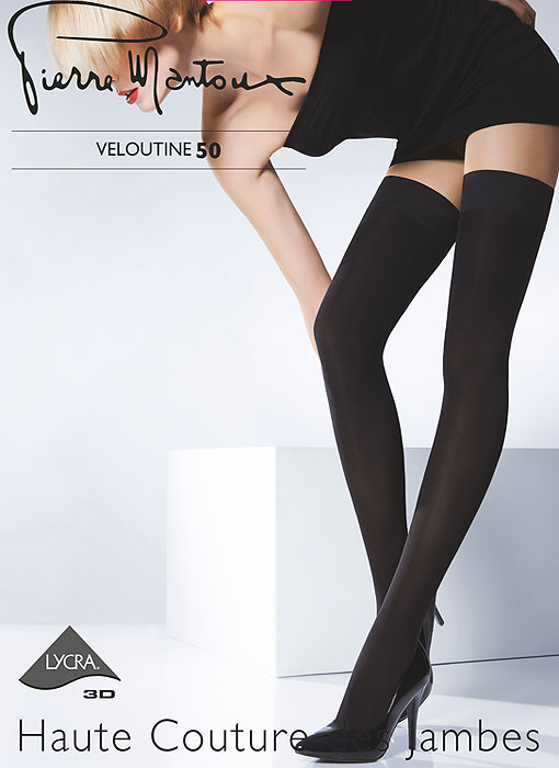 Pierre Mantoux Veloutine 50 Opaque Hold Ups