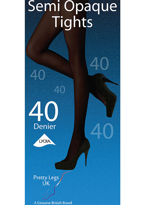 Pretty Legs 40 Denier Semi Opaque Tights
