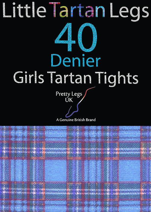 Pretty Legs Little Tartan Legs 40 Denier Tights