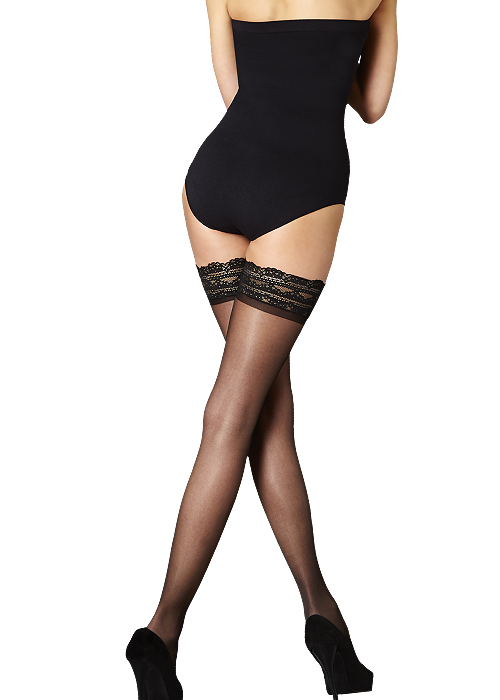 Pretty Legs Nylons Luxury Lace Top Hold Ups