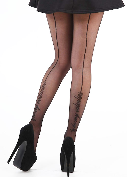 Pamela Mann Be My Valentine Tights