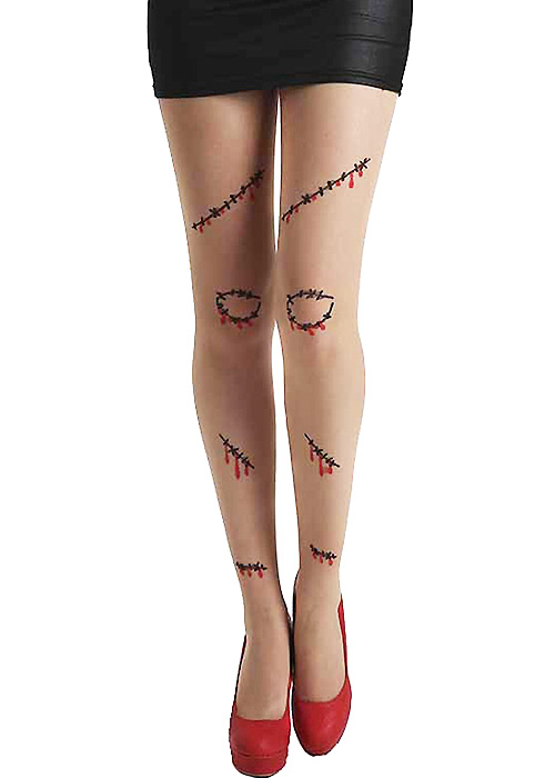 Pamela Mann Stitches and Blood Tights