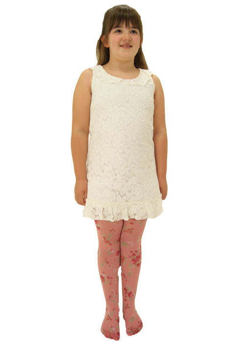 Poppylicious Ditsy Petite Flower Tights