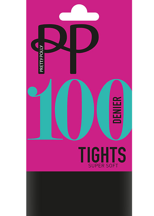 Pretty Polly 100 Denier Supersoft Opaque Tights