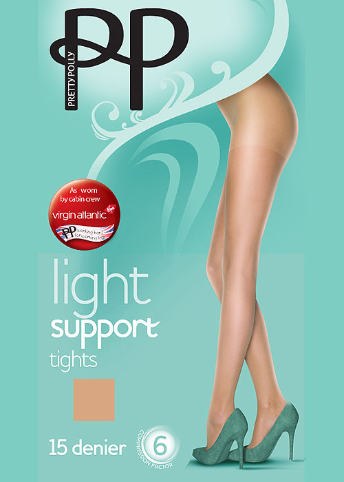 Pretty Polly Light Support Tights Factor 6