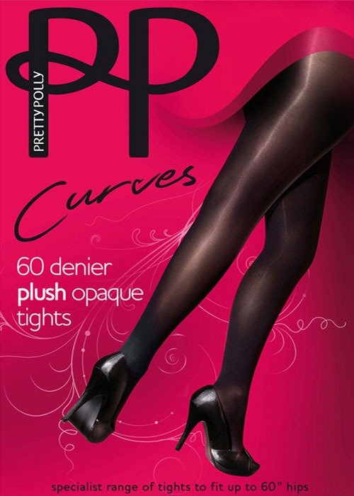 Pretty Polly 60 Denier Curves Plush Opaque Tights