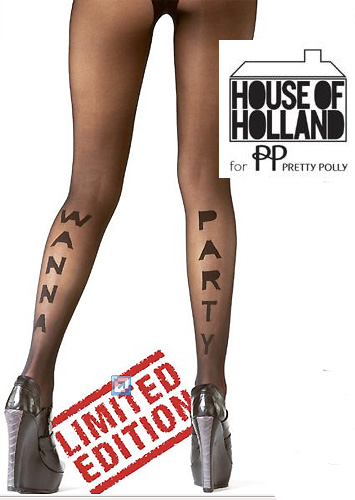 Tights Henry Holland for Pretty Polly Wanna Party Tights