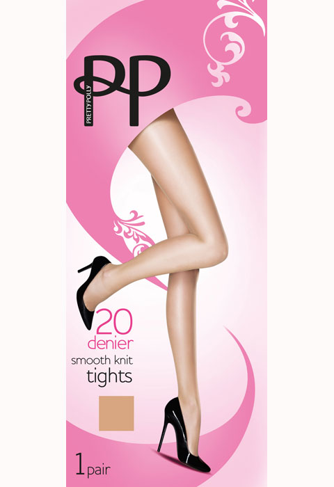 Pretty Polly Smooth Knit Tights