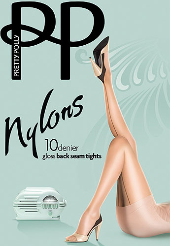 Pretty Polly Nylons Backseam Tights