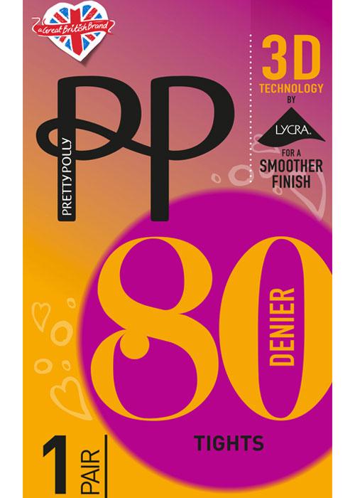 Pretty Polly 80 Denier 3D Opaque Tights