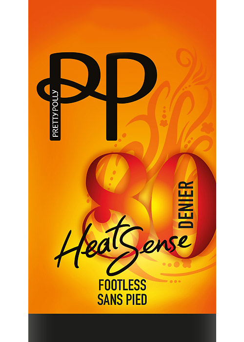 Pretty Polly 80 Denier Heatsense Footless Tights