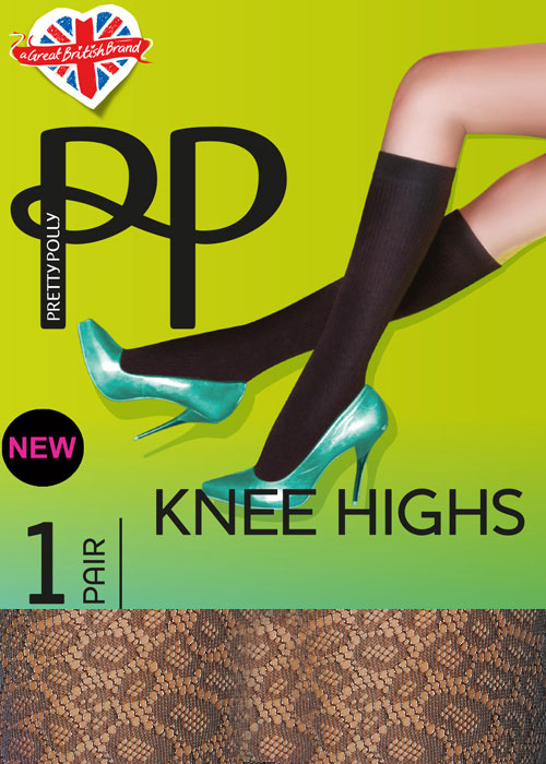 Pretty Polly Animal Fishnet Knee High