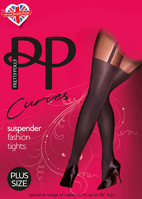 Pretty Polly Curves Suspender Tights