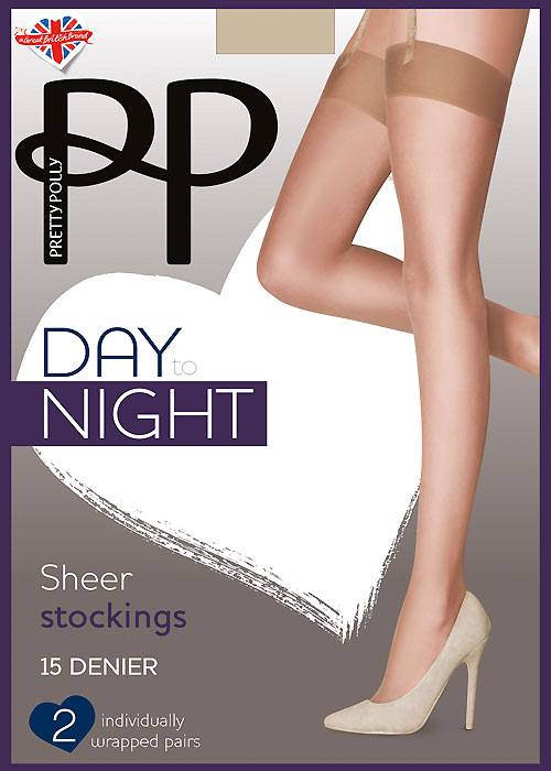 Pretty Polly Day To Night Stockings 2PP