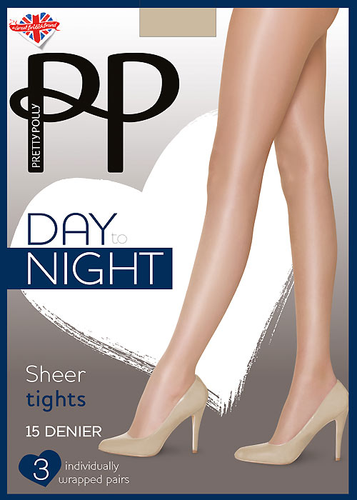 6e5a3ff805e Pretty Polly Day To Night Tights 3PP In Stock At UK Tights