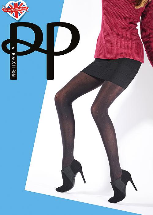 b77bf1a2e Pretty Polly Dot Print Tights In Stock At UK Tights
