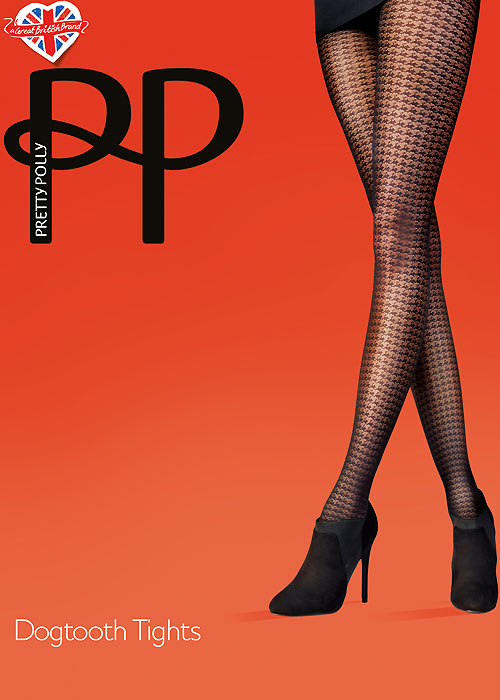 Pretty Polly Fashion Dogtooth Tights