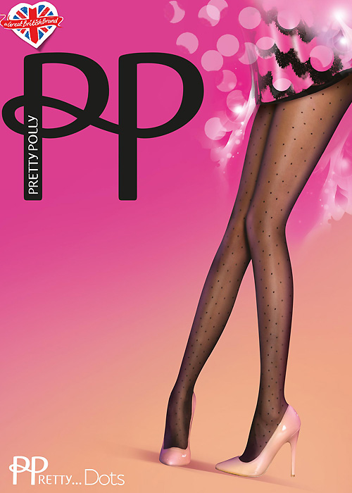 Pretty Polly Dots Fashion Tights