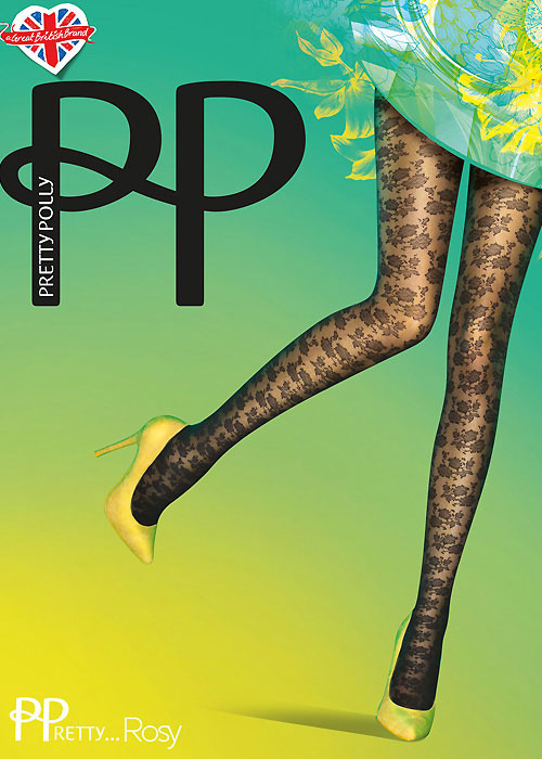 Pretty Polly Rosy Fashion Tights