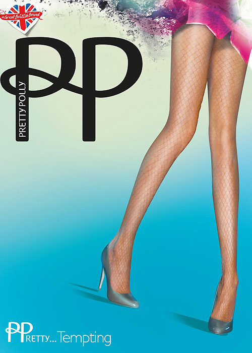 Pretty Polly Tempting Large Net Tights